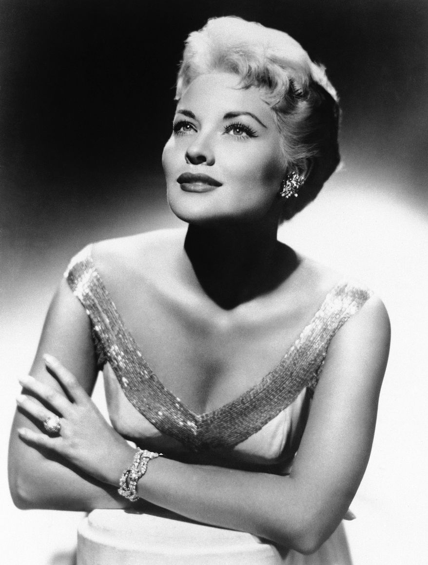 "Singer Patti Page, pictured in 1958, made ""Tennessee Waltz"" the third-best-selling recording ever. (AP Photo)"