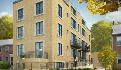 Arthur Tsiamis is building nine condominiums at North View in Glover Park. The homes range in size from 830 to 1,720 finished square feet and are priced from $529,900 to $899,900. Five parking spaces also are available, priced at $35,000 each.