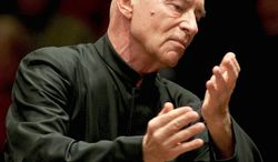 Christoph Eschenbach will conduct as cellist Alisa Weitersten performs May 2. (National Symphony Orchestra)