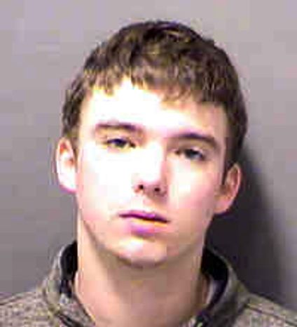 William Hilton Paul, 19-year-old son of Sen. Rand Paul, Kentucky Republican, was arrested at Charlotte Douglas International Airport in Charlotte, N.C., and charged with underage drinking and disorderly conduct on Saturday, Jan. 5, 2013, after flying from Kentucky to North Carolina. (AP Photo/Charlotte-Mecklenburg Police Department via WCNC-TV)