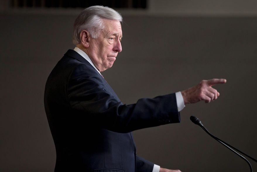 Rep. Steny H. Hoyer, Maryland Democrat (Associated Press) **FILE**