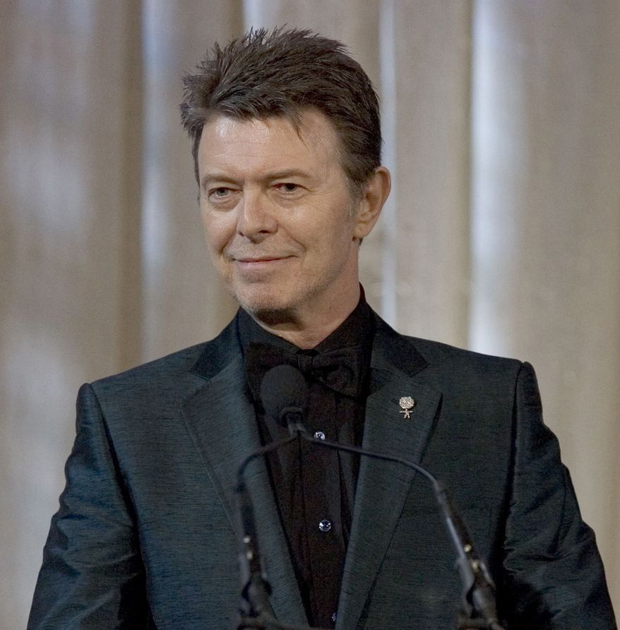 "David Bowie has released his first song in 10 years, ""Where Are We Now?"" A new album, ""The Next Day,"" will be out in March. (AP Photo/Stephen Chernin)"