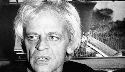 """German actor Klaus Kinski is pictured in 1979, when he was going to play Count Dracula in the film """"Nosferatu the Vampyre."""" (AP Photo/Thanh My Huynh)"""