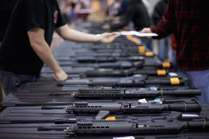 Virginia requires licensed firearm dealers to check the backgrounds of all buyers, but the law does not apply to purchases from private sellers at gun shows. A Republic