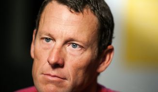 """""""I'm calm, I'm at ease and ready to speak candidly,"""" Lance Armstrong said before sitting down with Oprah Winfrey for an interview Monday that is to be broadcast Thursday. The cyclist was expected to make an apology and a limited confession about using performance-enhancing drugs to win the Tour de France. (Associated Press)"""