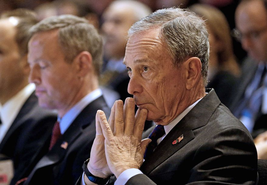 Former New York City Mayor Michael R. Bloomberg (Associated Press) ** FILE **