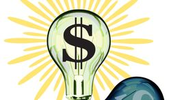 Illustration Capitalism by Greg Groesch for The Washington Times