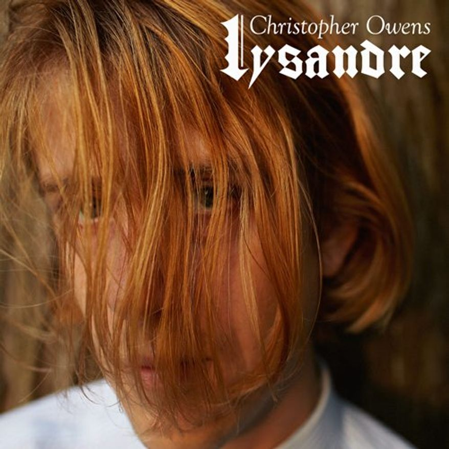 """Cover art for Christopher Owens' """"Lysander"""""""