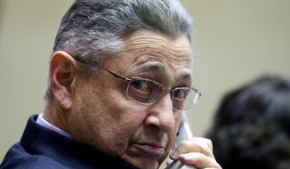 """""""I think the message out there is clear after [the Newton, Conn., school shootings] and to get us down this road as quickly as possible to basically eradicate assault weapons from our streets in New York as quickly as possible is something the people of our state want,"""" said New York Assembly Speaker Sheldon Silver. (Associated Press)"""
