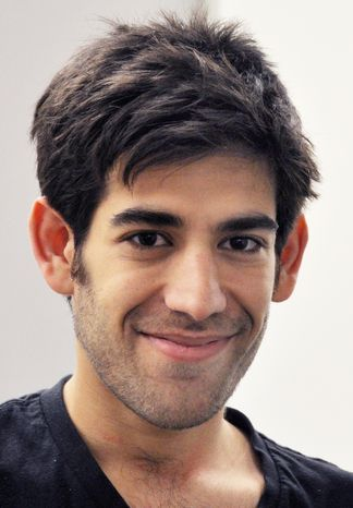 Aaron Swartz, a co-founder of Reddit, hanged himself on Friday, Jan. 11, 2013, in New York. (AP Photo/ThoughtWorks, Pernille Ironside)