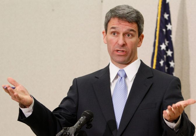 Virginia Attorney General Kenneth T. Cuccinelli II reports that utilities have primarily relied on buying renewable energy certificates from existing renewable facilities to receive the incentives allowed by law. (Associated Press)