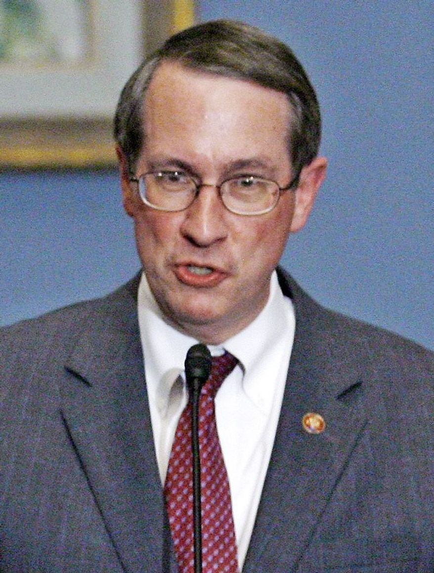 Rep. Bob Goodlatte, Virginia Republican and chairman of the House Judiciary Committee, Tuesday led the joint reading of the U.S. Constitution by about 75 members of Congress. (Associated Press)