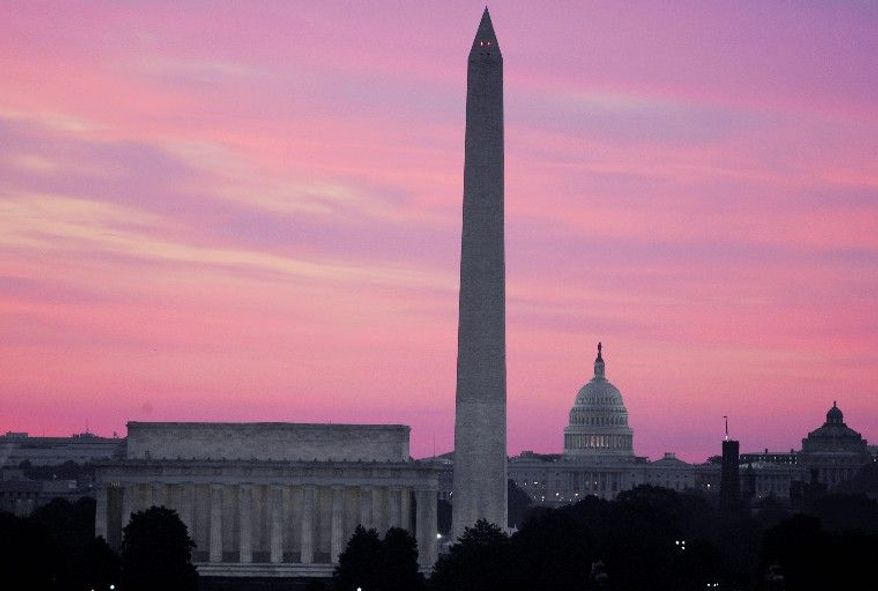 **FILE** The skyline of Washington, D.C. (Associated Press)