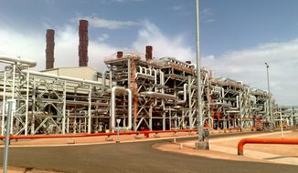 Islamist militants raided the Amenas natural gas field in Algeria on Wednesday, killing two and taking hostages, including some Americans and English, Norwegian and Japanese nationals. Algerian forces later caught up with and surrounded the kidnappers. Negotiations for the release of the hostages were ongoing, officials said. (BP via Associated Press)