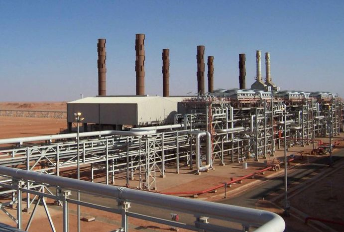 Islamist militants raided and took hostages at the Amenas natural gas field in the eastern central region of Algeria on Wednesd