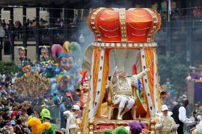 Rex, the King of Carnival, will make his traditional Mardi Gras appearance in New Orleans. With the Super Bowl on Feb. 3 and Mardi Gras falling nine days later, the Big Easy is gearing up for a massive celebration and influx of tourists th