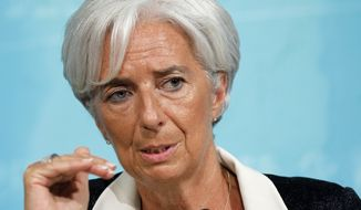 International Monetary Fund Managing Director Christine Lagarde (Associated Press)