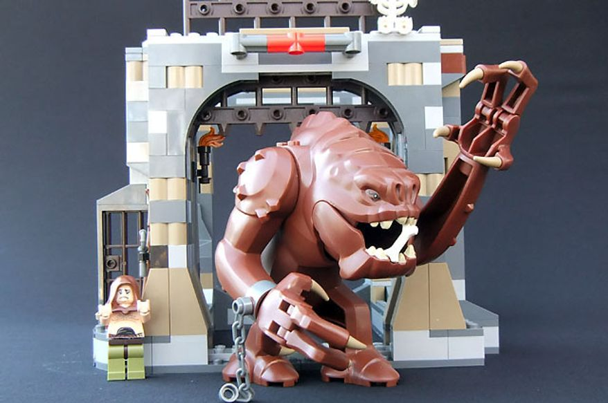 The Lego Star Wars Rancor Pit set (Photograph by Joseph Szadkowski / The Washington Times)