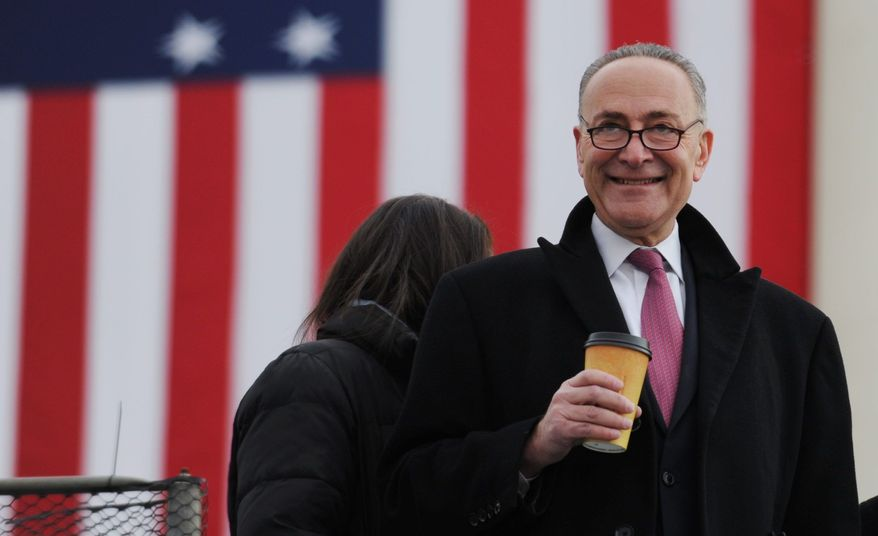 ** FILE ** Sen. Charles E. Schumer, New York Democrat. (Associated Press)