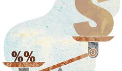 Illustration Interest Scales by Greg Groesch for The Washington Times