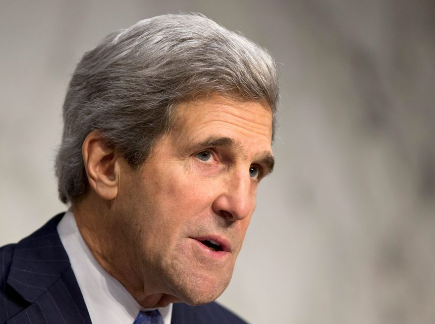 In his confirmation hearing, Sen. John F. Kerry is unlikely to stray from his record favoring debate and analysis before committing to military action. (Associated Press)
