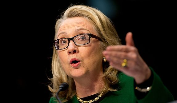 Hillary Clinton (The Washington Times/File)