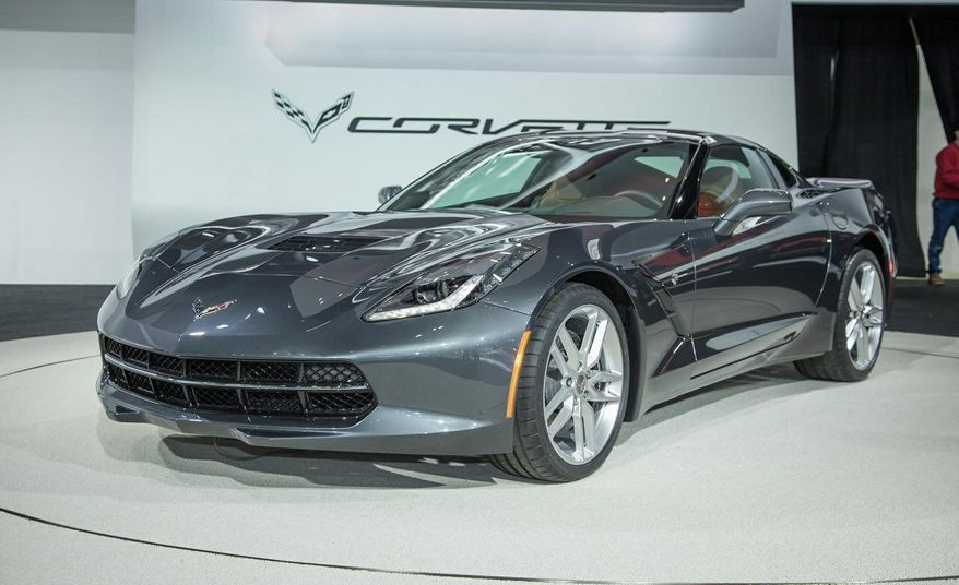 The 2014 Corvette Stingray is the most powerful standard model ever, with an estimated 450 horsepower (335 kW) and 450 lb.-ft of torque (610 Nm).