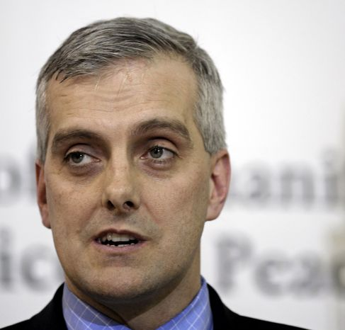 **FILE** This photo from March 6, 2011, shows then-Deputy National Security Adviser Denis McDonough speaking in Sterling, Va. He is now the White House Chief of Staff. (Associated Press)