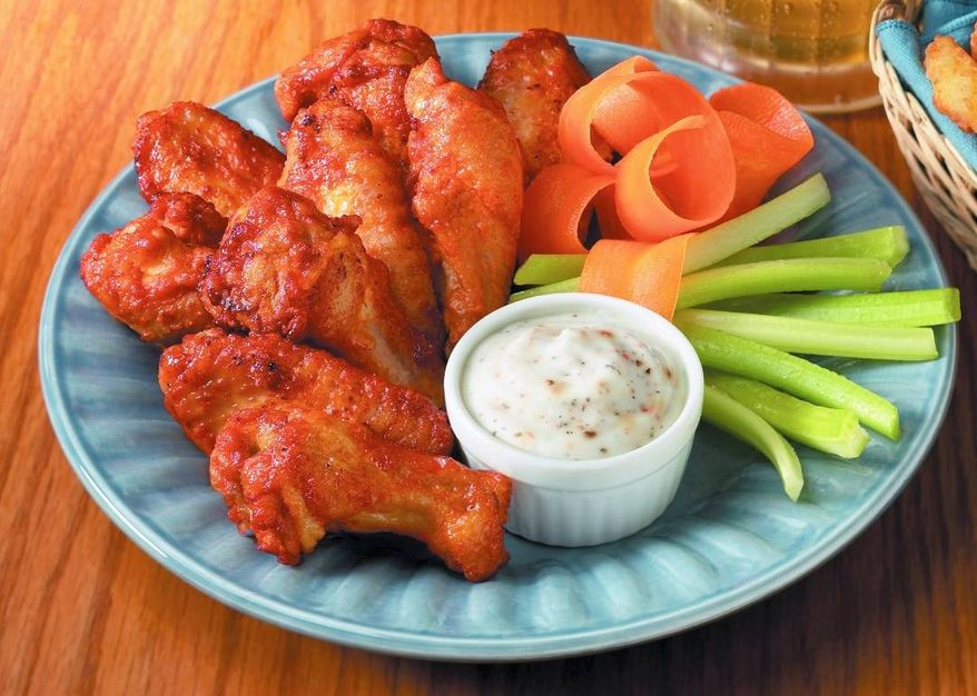 "The National Chicken Council reveals that there are ""no extreme left wings or extreme right wings"" when it comes to chicken wings. (Image from the National Chicken Council)"