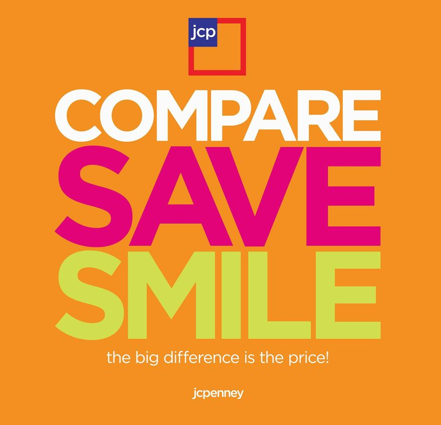 J.C. Penney is making an advertising push and bringing back discounts. (J.C. Penney via Associated Press)