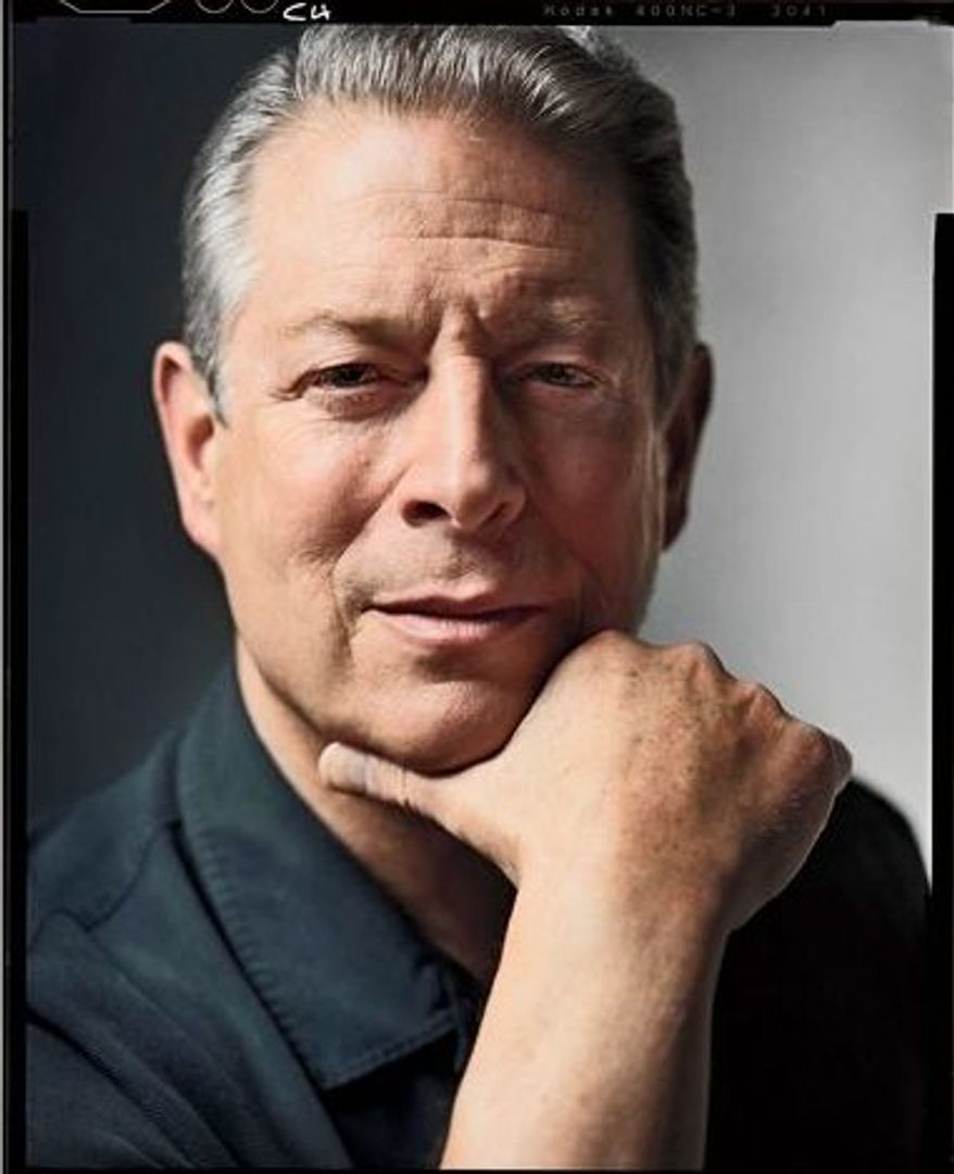 """Al Gore on Tuesday will begin in Manhattan as he embarks on a 20-city tour to promote """"The Future,"""" the former vice president's new book. Most of the stops are already sold out. (Random House)"""