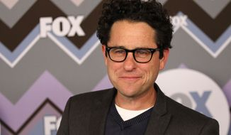 **FILE** J.J. Abrams arrives Jan. 8, 2013, at the Winter TCA Fox All-Star Party at the Langham Huntington Hotel in Pasadena, Calif. (Matt Sayles/Invision/Associated Press)