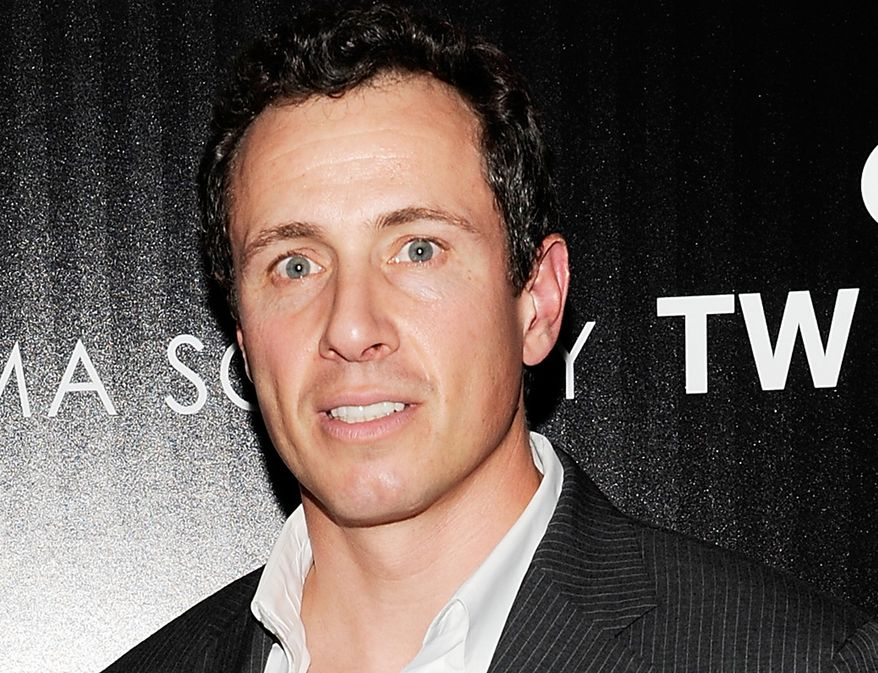 """Then-ABC News' Chris Cuomo attends the premiere of the film """"Safe"""" in New York in this Monday, April 16, 2012, file photo. Cuomo now works for CNN. (AP Photo/Evan Agostini)"""