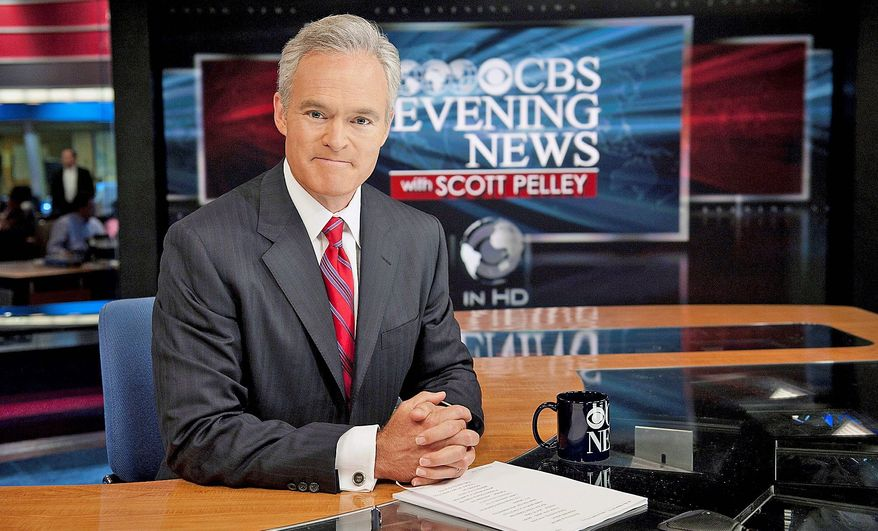 CBS News anchor Scott Pelley will interview President Obama live from the White House as part of the official pregame show to Super Bowl XLVII on Sunday. (CBS via Associated Press)