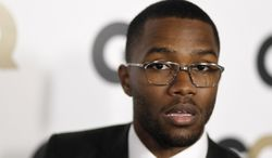 "Musician Frank Ocean attends the 16th annual GQ ""Men of the Year"" party in Los Angeles in 2011. (AP Photo/Matt Sayles)"