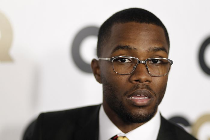 """Musician Frank Ocean attends the 16th annual GQ """"Men of the Year"""" party in Los Angeles in 2011. (AP Photo/Matt Sayles)"""