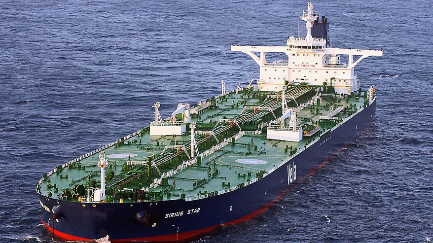 Supertankers, which transport half the world's oil, are increasingly destined toward Asian markets. The U.S. and other nations in the Western Hemisphere are becoming more self-reliant. (U.S. Navy Via Associated Press)