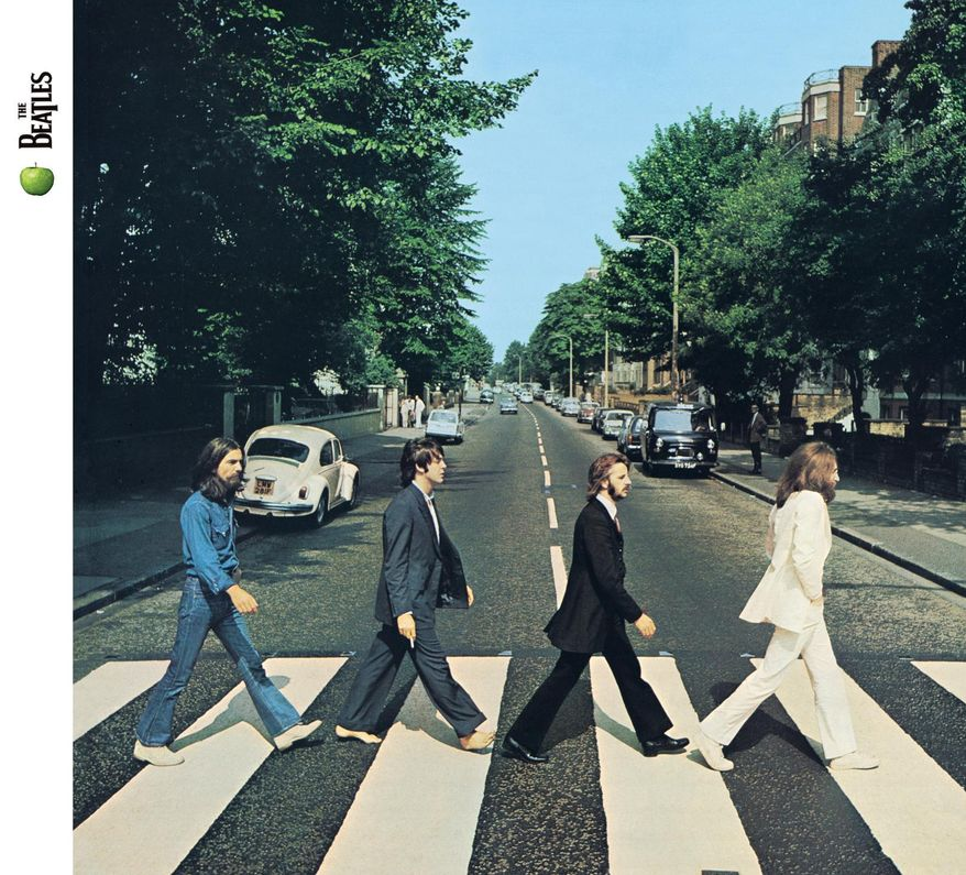 """Abbey Road album cover. Controversy: """"Paul is dead†conspiracy theorists maintain that the Paul McCartney in the photo is actually an impostor — perhaps a McCartney lookalike named William Shears — and that the album cover is full of hidden clues and morbid symbolism, including the left-handed Mr. McCartney holding a cigarette in his right hand and being out of step with his bandmates.Verdict: Real photo. Bogus conspiracy theory. Never mind Mr. McCartney's prolific post-""""death†musical career — no self-respecting global conspiracy dedicated to maintaining the illusion that a supposedly deceased artist as talented as Mr. McCartney was still alive would ever have allowed """"Wonderful Christmastime†to be released."""