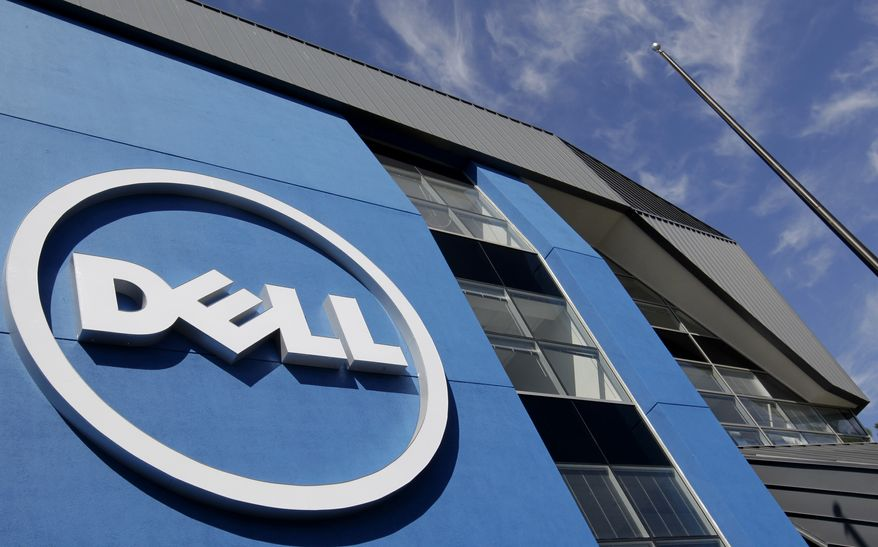 The sun is reflected in the exterior of Dell Inc.'s offices in Santa Clara, Calif., on Tuesday, Aug. 21, 2012. (AP Photo/Paul Sakuma)