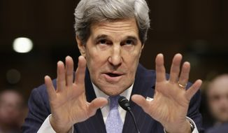 **FILE** Secretary of State John Kerry (Associated Press)