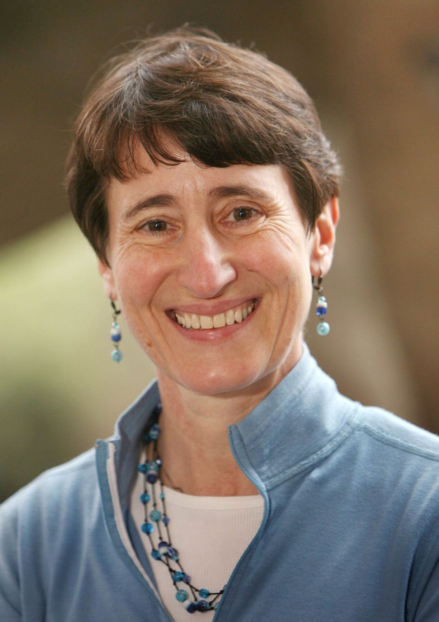 ** FILE ** This March 2006 file photo shows Recreational Equipment, Inc. (REI) CEO Sally Jewell at REI's Seattle flagship store. An administration official says President Obama has plans to announce the nomination of Jewell to secretary of Interior. (AP Photo/Scott Cohen)