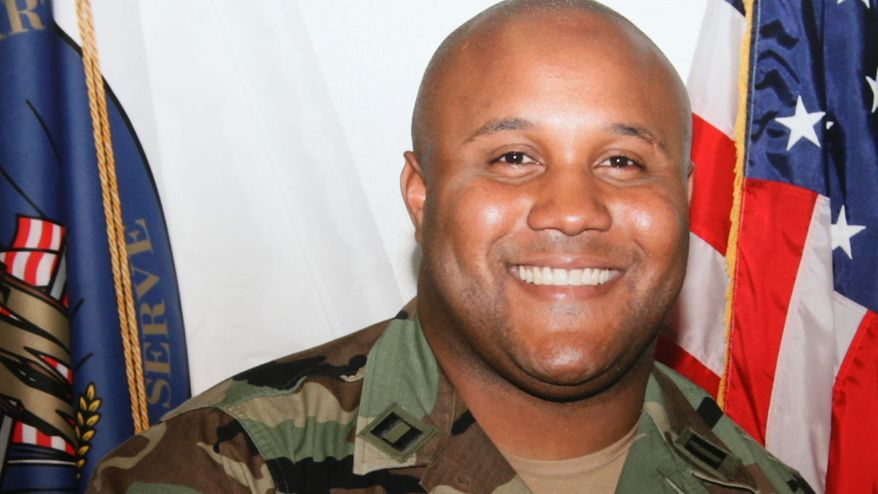 ** FILE ** Christopher Jordan Dorner (Associated Press)