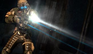 Dead Space 3 takes a player into locations as creepy as any Alien film.