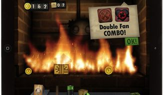 Toss the right combination of items into the flames to access more stuff to burn in the iPad experience Little Inferno.