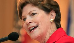 **FILE** Sen. Jeanne Shaheen, New Hampshire Democrat (Associated Press)