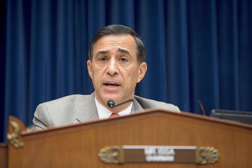 ** FILE ** Rep. Darrell E. Issa, California Republican, is House Oversight Committee chairman. (Associated Press)