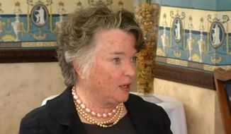 Maureen O'Connor, former mayor of San Diego and widow of Jack-in-the-Box founder Robert O. Peterson, gambled away her fortune. (Credit: NBCLOSANGELES)