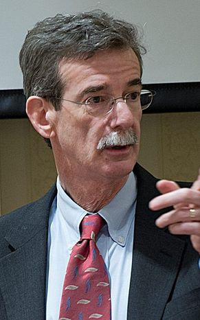 Maryland Attorney General Brian Frosh says the state plans to join the federal lawsuit challenging President Trump's revised travel ban. (Barbara L. Salisbury/The Washington Times)