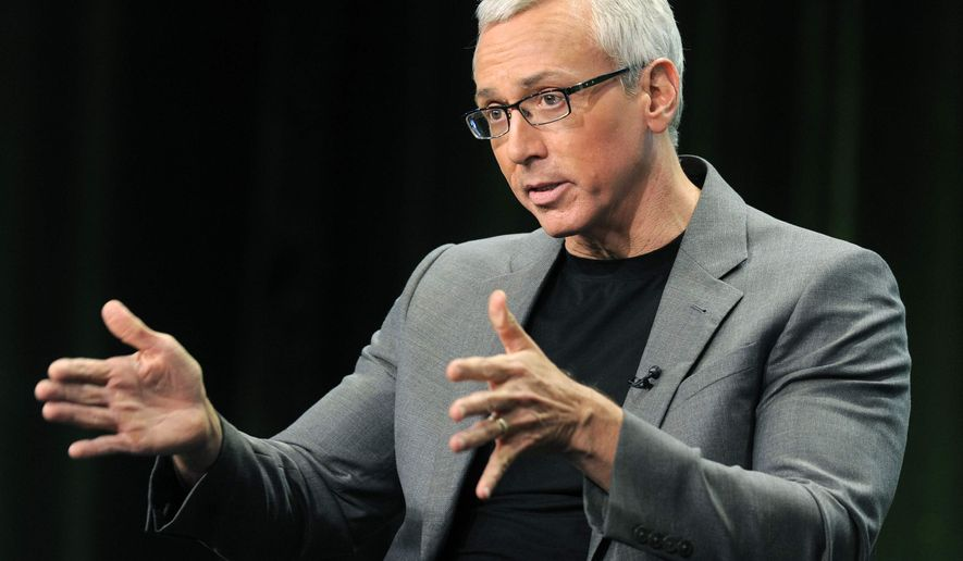 "This Aug. 4, 2011, file photo shows Dr. Drew Pinsky, host of the CW television series ""Dr. Drew's Lifechangers,"" during a panel discussion on the show at the CW Showtime summer press tour in Beverly Hills, Calif. (AP Photo/Chris Pizzello, file)"