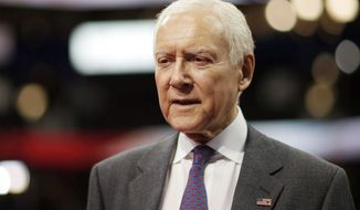 **FILE** Sen. Orrin G. Hatch, Utah Republican (Associated Press)